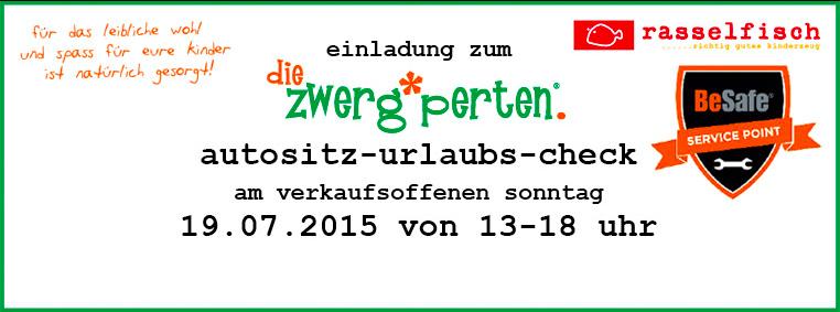 Kindersitz-Urlaubs-Check bei den Zwergperten Karlsruhe