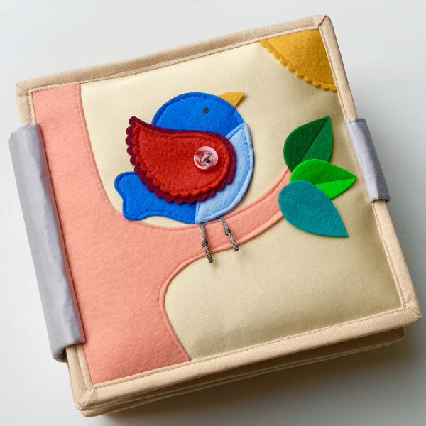 Quiet Book - Magic Bird - Mini