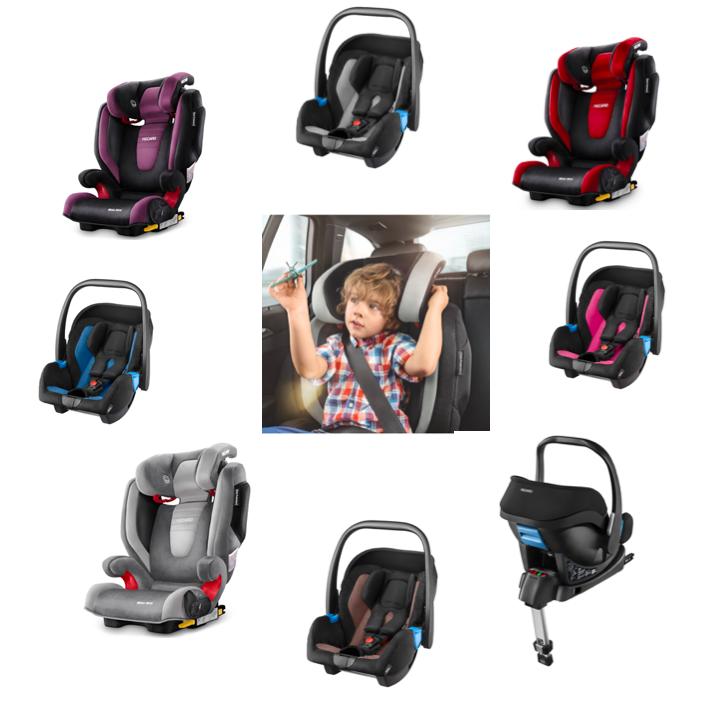 Neue Recaro-Sitze: Monza Nova 2 Seatfix und Babyschale Privia mit Basis
