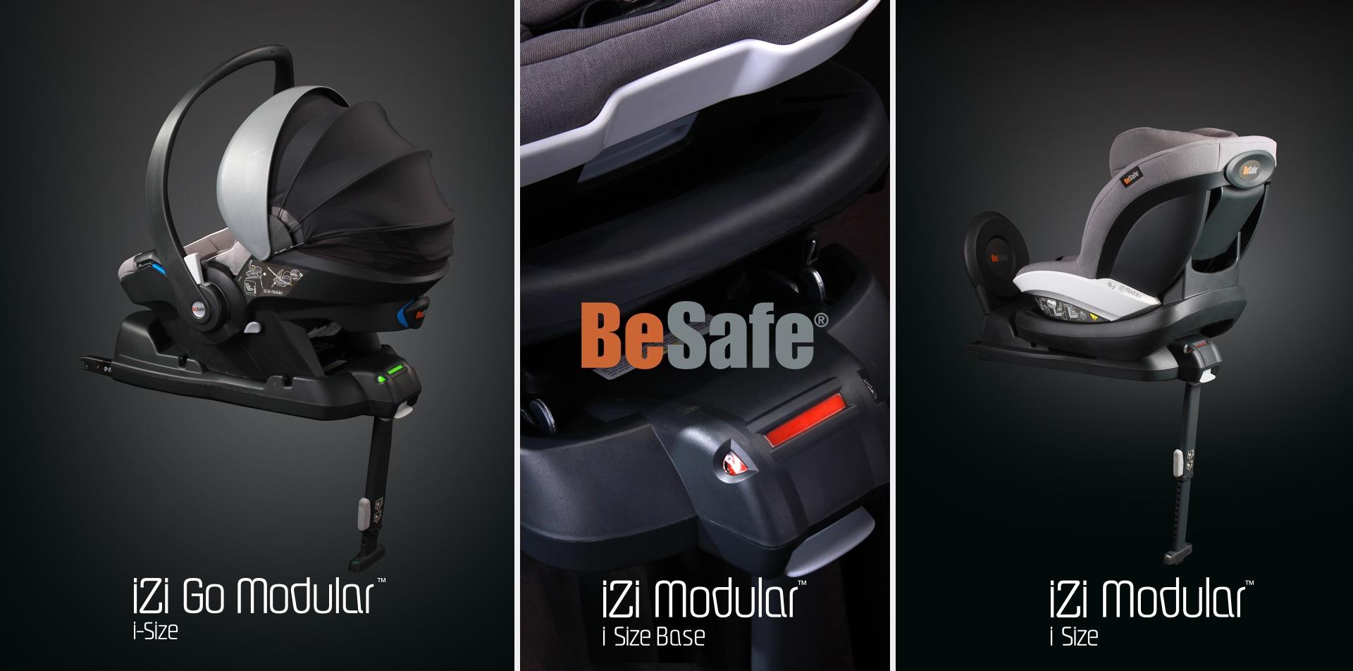 NEU am 10.10.2015 um 10:10 Uhr: die BeSafe iZi Modular-Familie