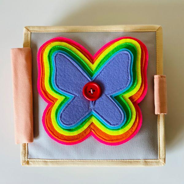 Quiet Book - Der Flatternde Schmetterling - Mini
